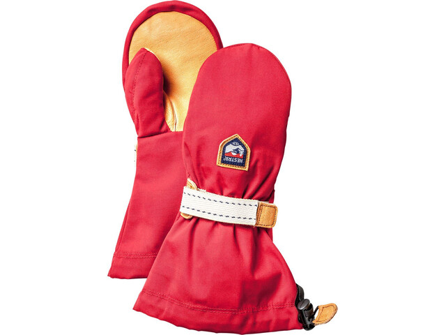 Hestra Helags Mitaines Enfant, red